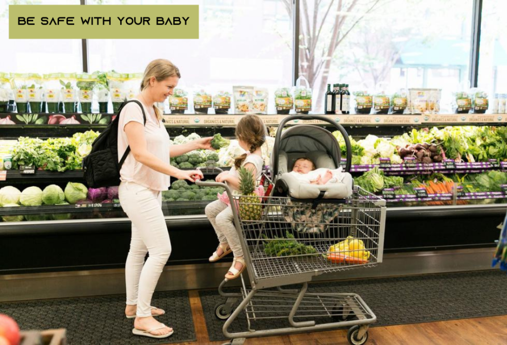 Grocery Shop With Baby